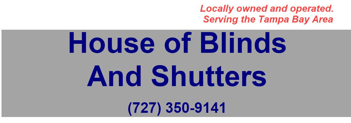 House of Blinds and Shutters Header